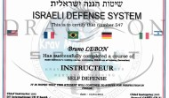 Diplôme Instructeur Self Defense FIKSDA