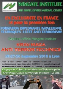 Stage Wingate anti terrorisme