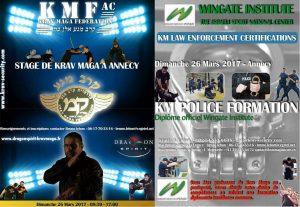 Stage KM Police Formation + KMF-AC