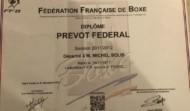 Diplôme Prévot Fédéral de Boxe