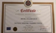 Certificat Tactical shooting Training Course